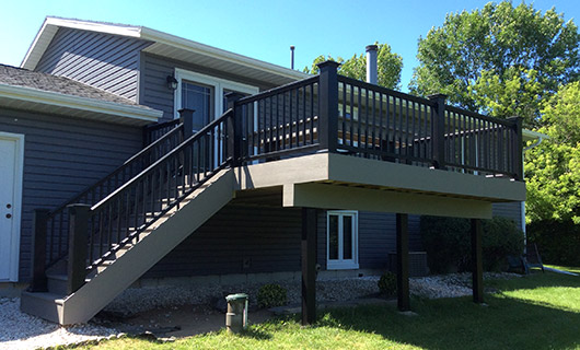Johnson Creek Azek Deck