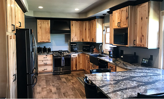 Oconomowc Rustic Kitchen